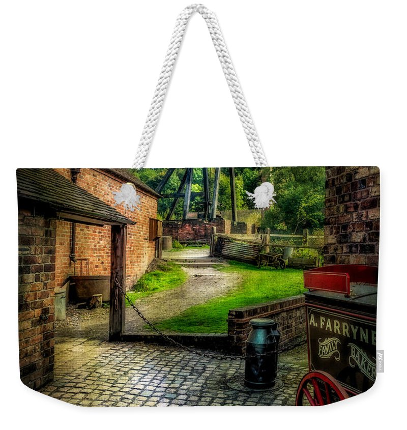 Victorian Weekender Tote Bag featuring the photograph Old Mine by Adrian Evans