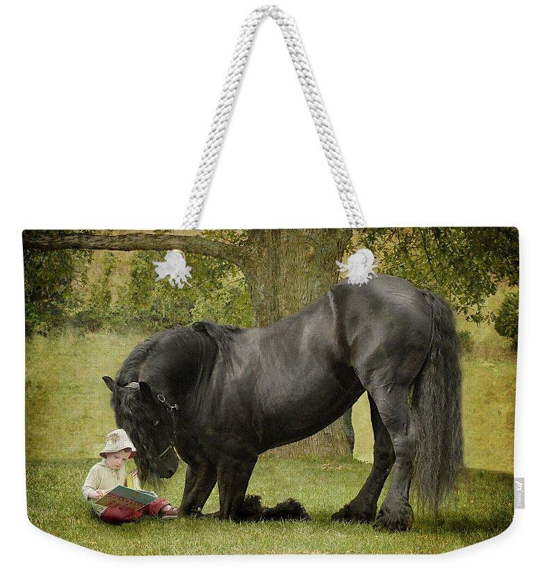 Horse Photographs Weekender Tote Bags