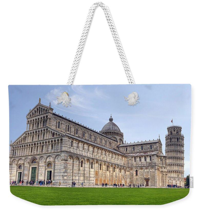 Pisa Weekender Tote Bag featuring the photograph Pisa by Joana Kruse