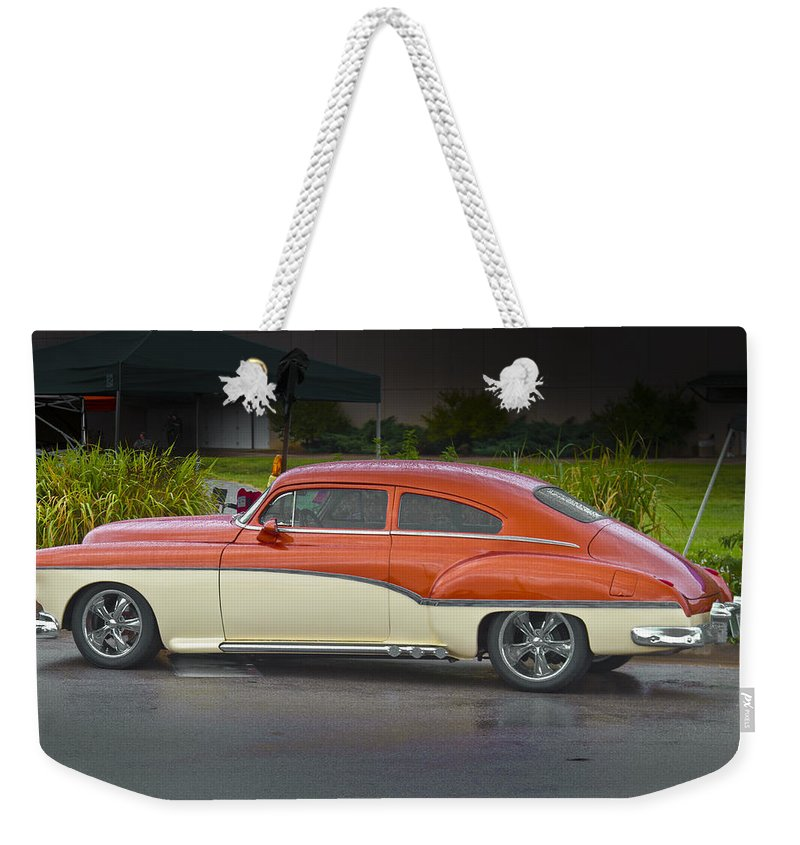 American Weekender Tote Bag featuring the photograph Pretty Lady by Jack R Perry