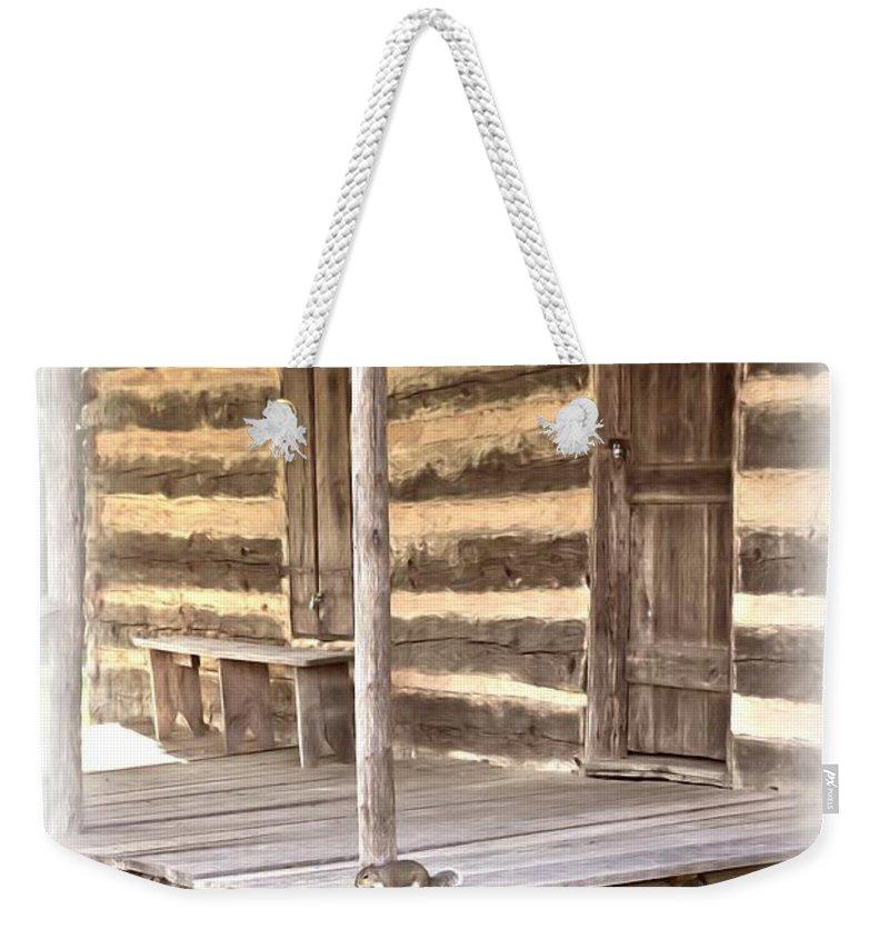 Jesus Weekender Tote Bag featuring the digital art Psalm 119 111 by Michelle Greene Wheeler