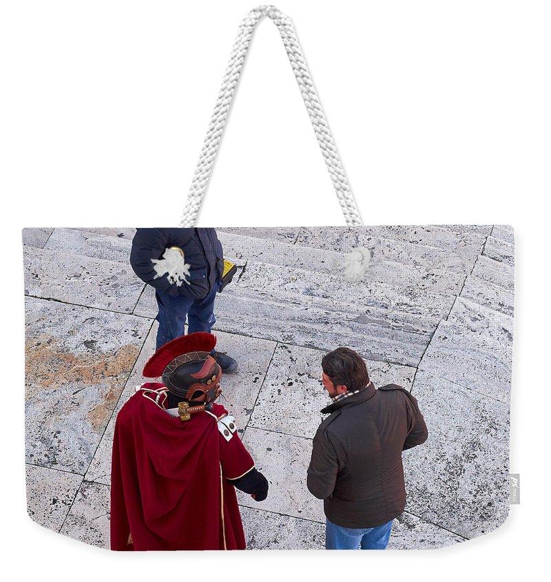 Lehto Weekender Tote Bag featuring the photograph Quo Vadis by Jouko Lehto