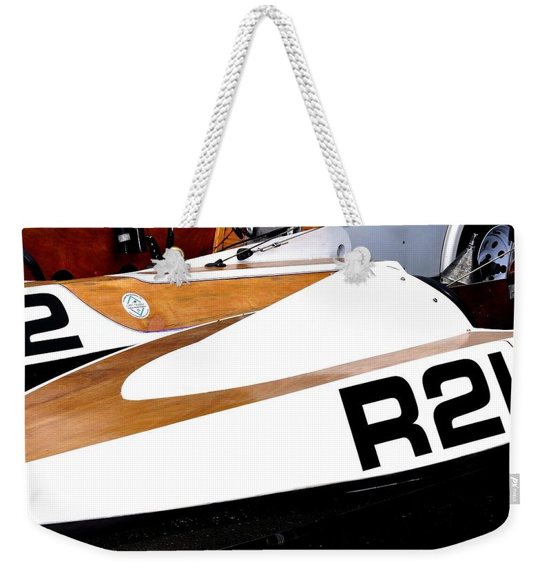 Rogers Weekender Tote Bag featuring the photograph R21 24316 by Jerry Sodorff