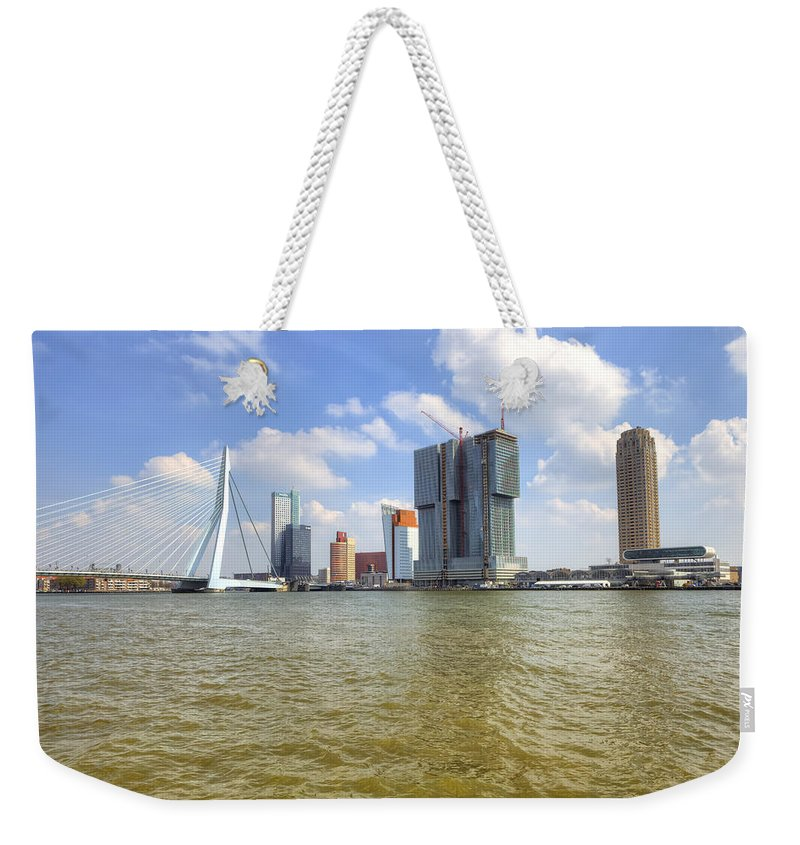 Rottderdam Weekender Tote Bag featuring the photograph Rotterdam by Joana Kruse