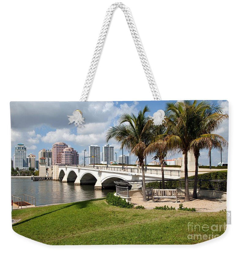 Florida Weekender Tote Bag featuring the photograph Royal Park Bridge by Bill Cobb