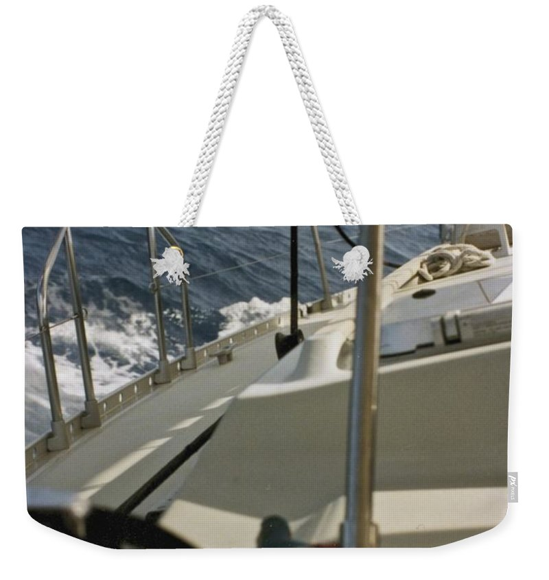 Sail Weekender Tote Bag featuring the photograph Sailing by William Norton