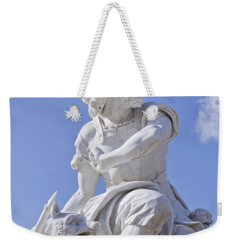 Brandenburg Weekender Tote Bag featuring the photograph Sanssouci Park Potsdam by Sv