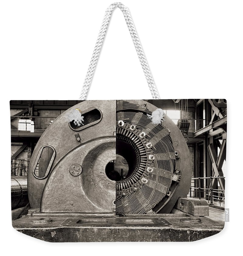 Santralİstanbul Weekender Tote Bag featuring the photograph Santrallstanbul Power Plant In Istanbul by For Ninety One Days