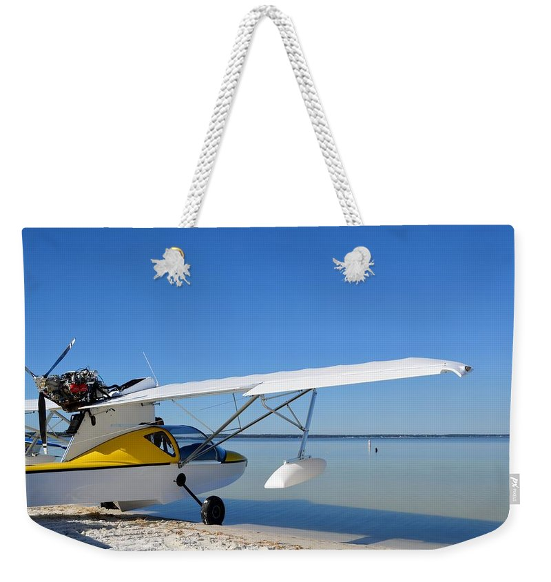 Progressive Aerodyne Searey Weekender Tote Bag featuring the photograph Searey by Matt Abrams