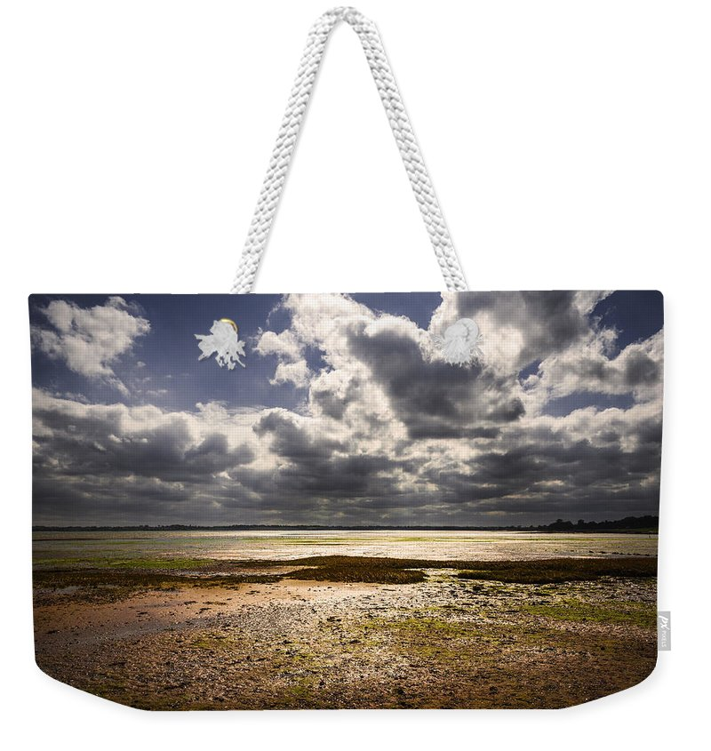 Bay Weekender Tote Bag featuring the photograph Shoreline by Svetlana Sewell