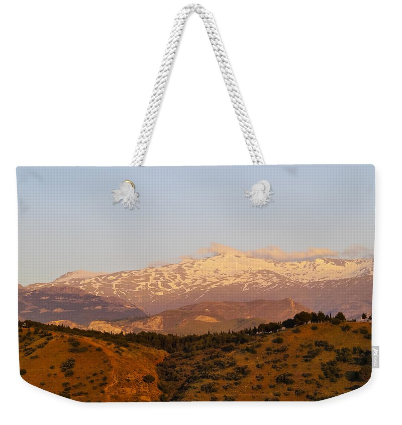 Horizontal Weekender Tote Bag featuring the photograph Sierra Nevada by Karol Kozlowski
