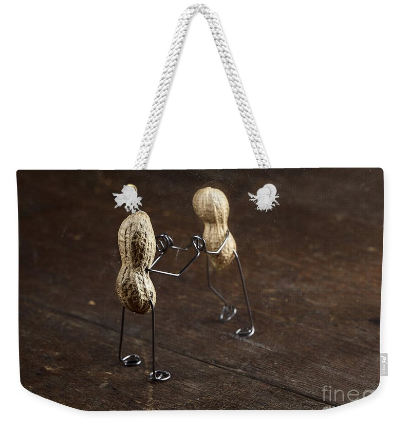 Simple Weekender Tote Bag featuring the photograph Simple Things - Apart by Nailia Schwarz