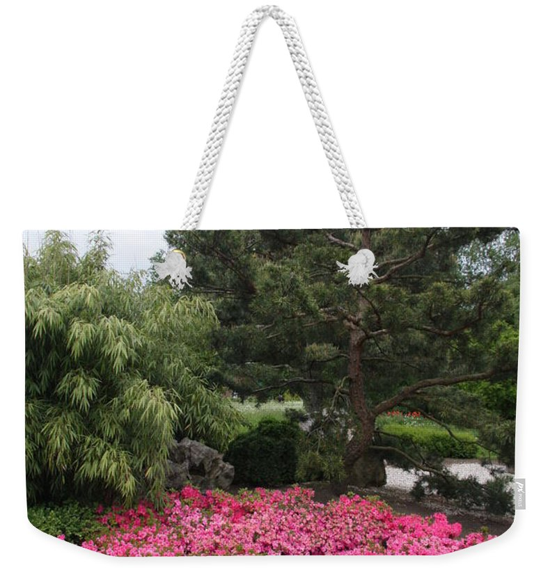 Spring Weekender Tote Bag featuring the photograph Springtime In The Park by Christiane Schulze Art And Photography