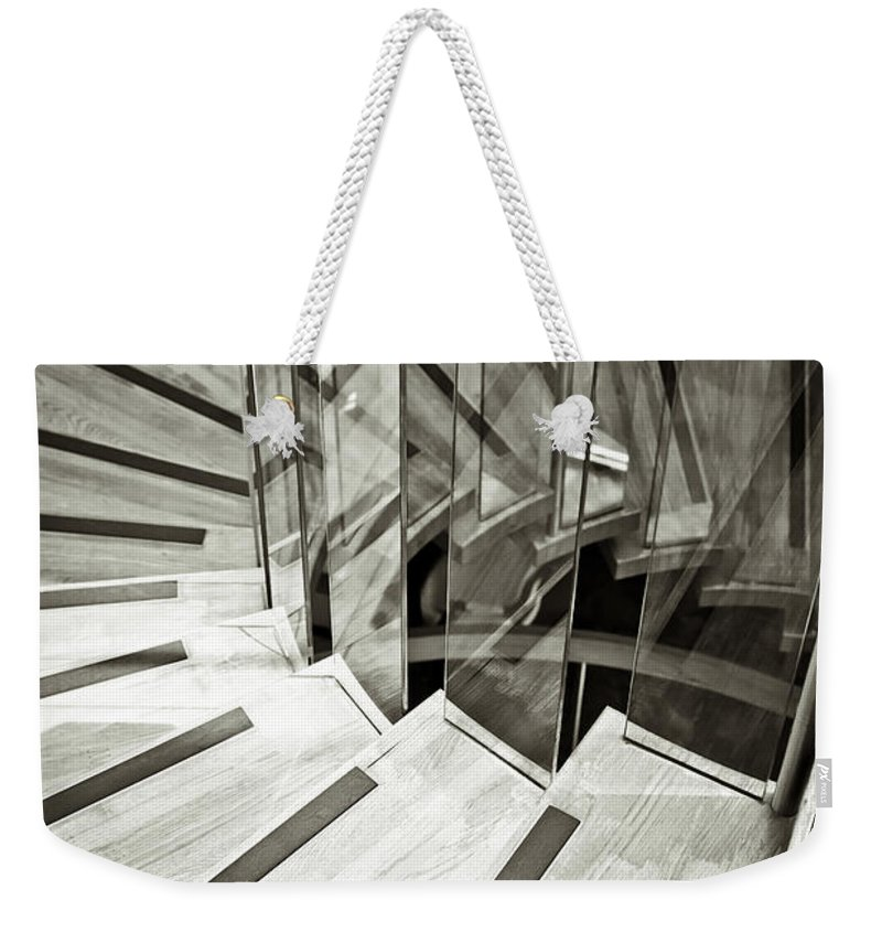 Achievement Weekender Tote Bag featuring the photograph Staircase by Tom Gowanlock