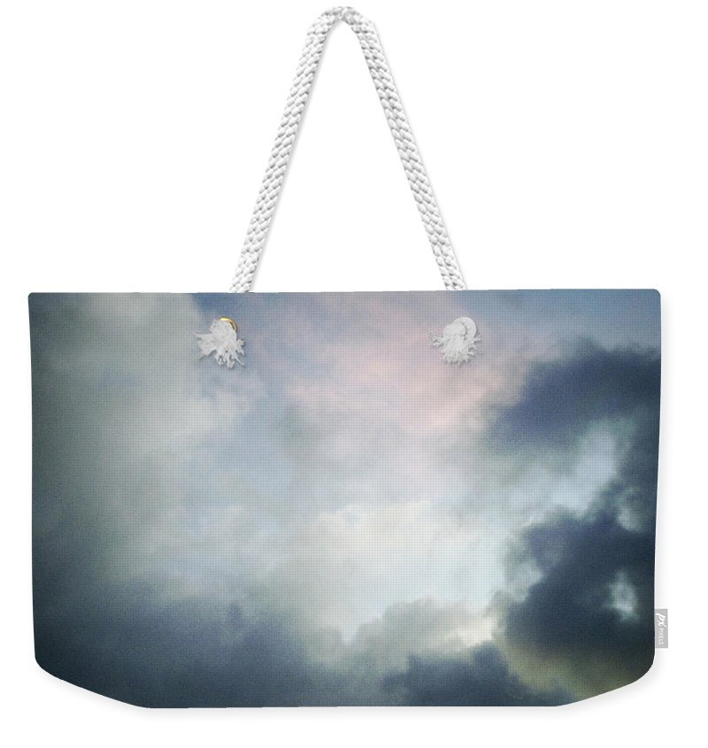 Clouds Weekender Tote Bag featuring the photograph Storm Clouds by Les Cunliffe