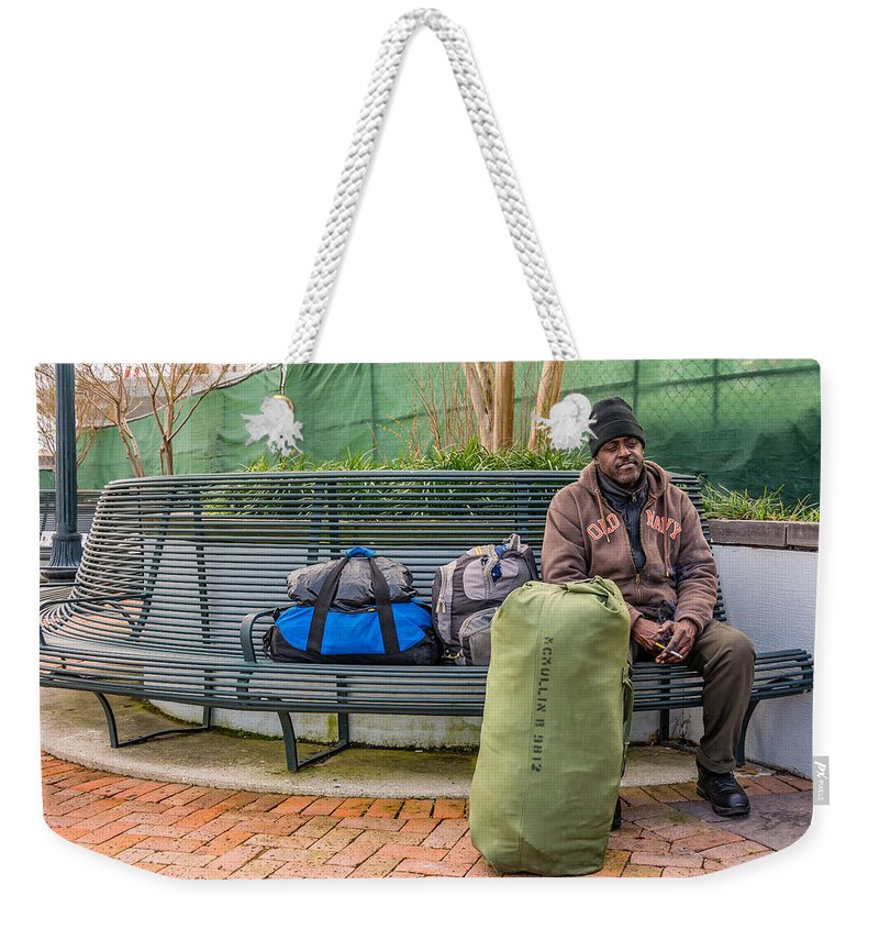 Nola Weekender Tote Bag featuring the photograph Such A Long Journey by Steve Harrington