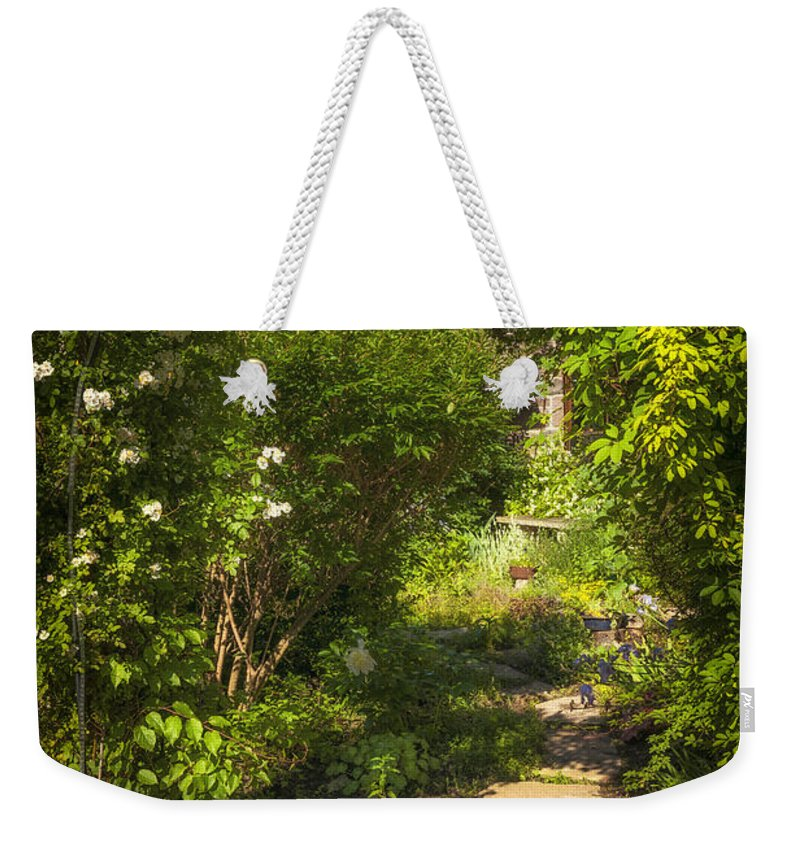 Garden Weekender Tote Bag featuring the photograph Summer Garden And Path by Elena Elisseeva