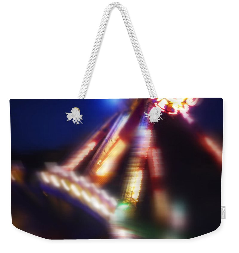 Swing Boat Weekender Tote Bag featuring the painting Swing Boat by Charles Stuart