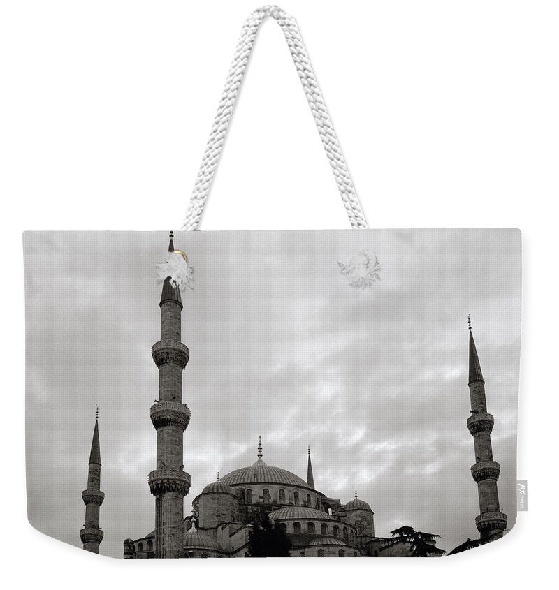 Blue Mosque Weekender Tote Bag featuring the photograph The Blue Mosque by Shaun Higson