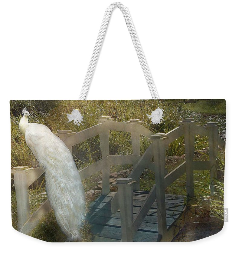 Bridge Weekender Tote Bag featuring the photograph The Foot Bridge by Fran J Scott