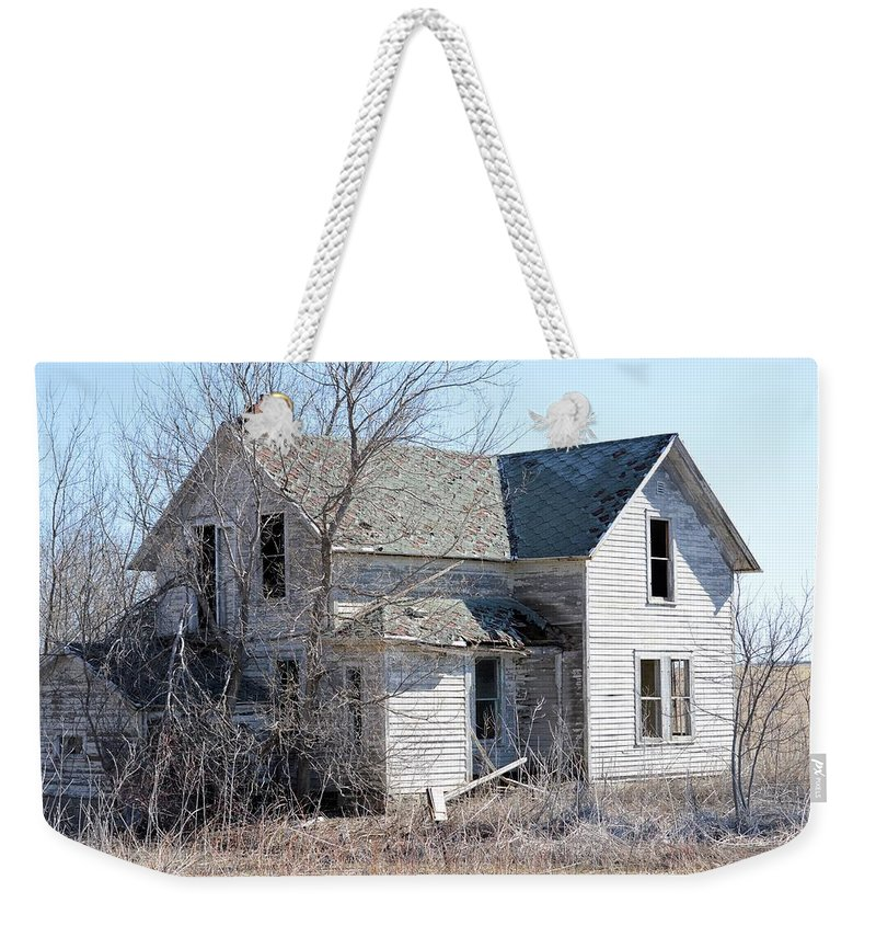 Homestead Weekender Tote Bag featuring the photograph The Homestead by Bonfire Photography