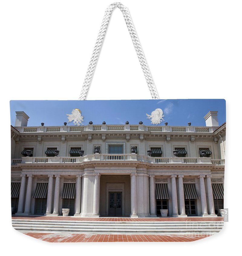 Huntington Library Weekender Tote Bag featuring the photograph The Huntington Library House And Art Gallery by Jason O Watson