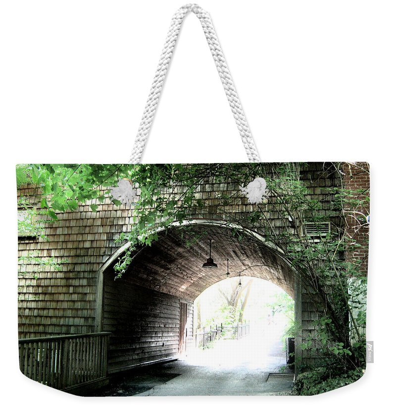 Shawn Weekender Tote Bag featuring the photograph The Road To Beyond by Shawn Dall
