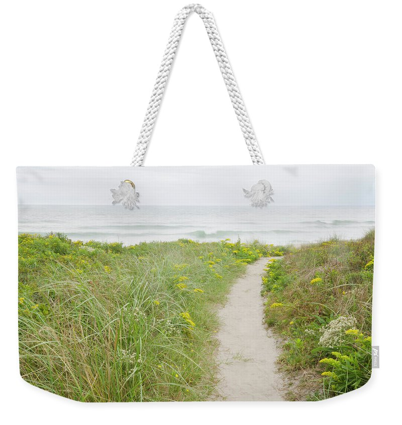Tranquility Weekender Tote Bag featuring the photograph Usa, Massachusetts, Nantucket Island by Chuck Plante