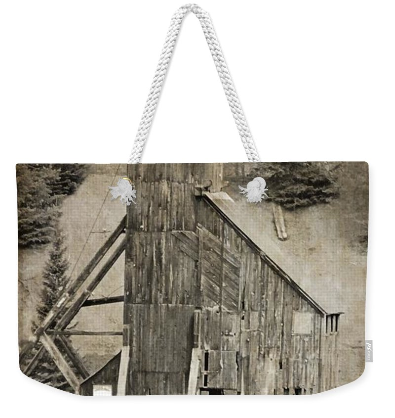 Yankee Girl Mine Weekender Tote Bag featuring the photograph Yankee Girl Mine by Dan Sproul