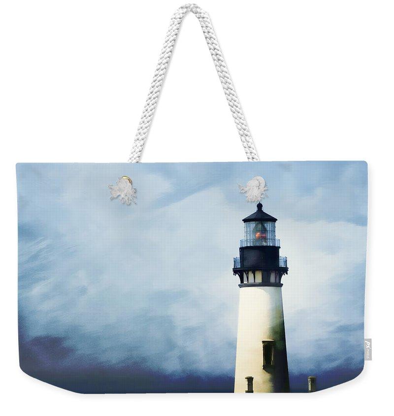 Lighthouse Weekender Tote Bags