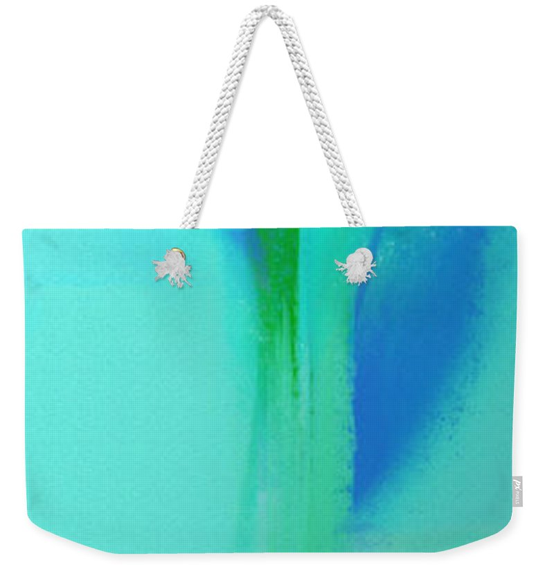 Andee Design Abstract Weekender Tote Bag featuring the digital art Young And In Love by Andee Design
