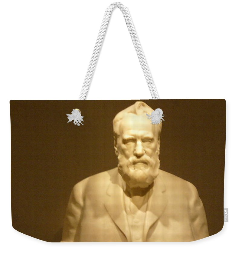 Washington Weekender Tote Bag featuring the photograph DC by Lord Frederick Lyle Morris