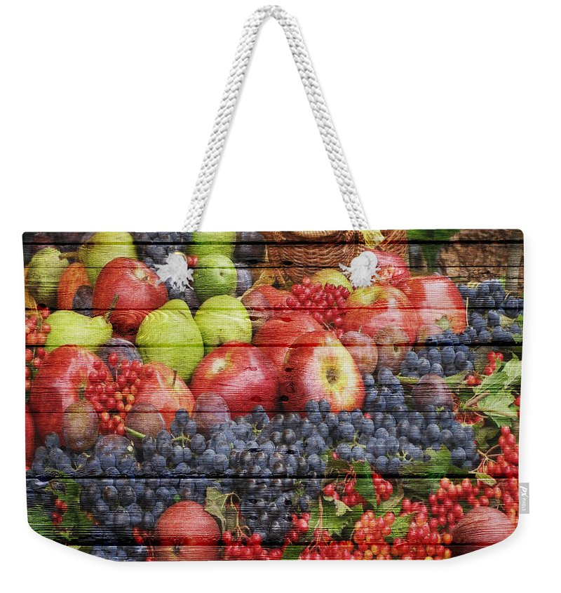 Fruit Weekender Tote Bag featuring the photograph Fruit by Joe Hamilton