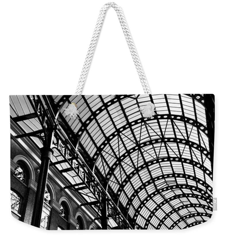 Hays Galleria Weekender Tote Bag featuring the photograph Hay's Galleria London by David Pyatt