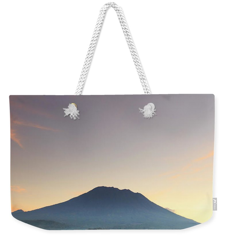 Scenics Weekender Tote Bag featuring the photograph Indonesia, Bali, Rice Fields And by Michele Falzone