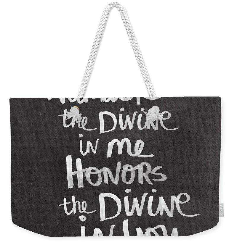 Divine Weekender Tote Bags