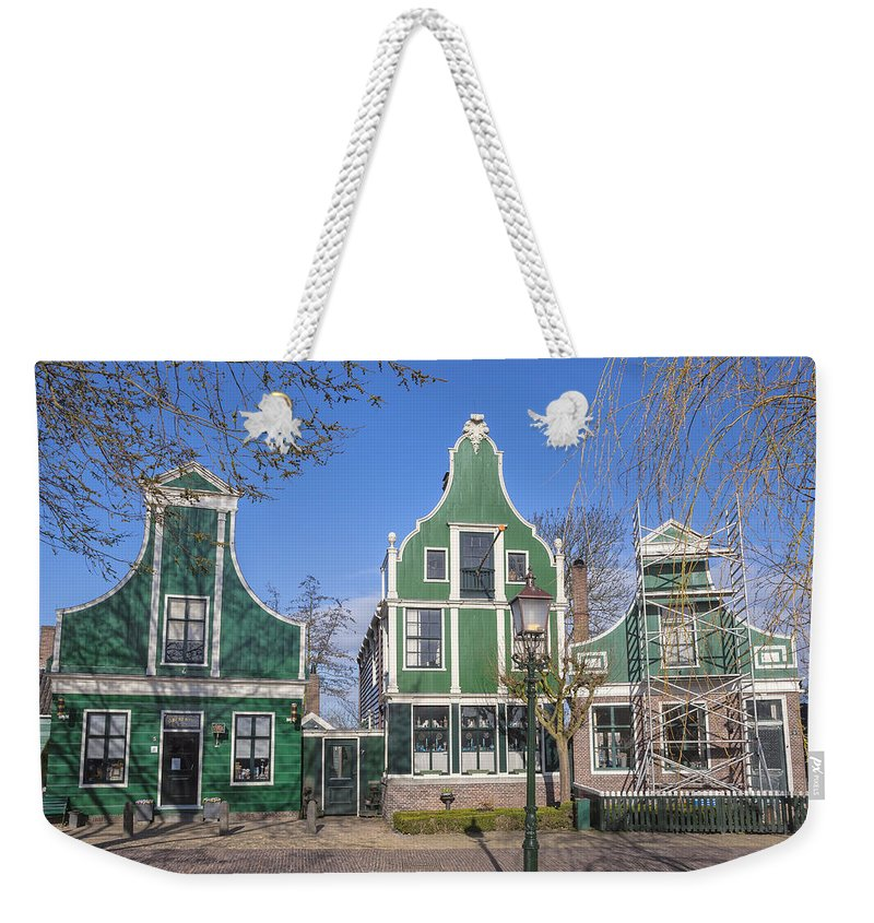 Zaanse Schans Weekender Tote Bag featuring the photograph Zaanse Schans by Joana Kruse