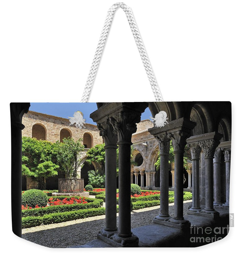 Fontfroide Weekender Tote Bag featuring the photograph 120520p105 by Arterra Picture Library
