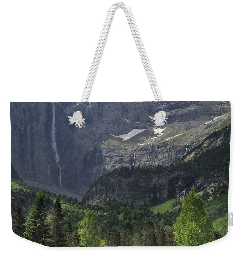 Cirque De Gavarnie Weekender Tote Bag featuring the photograph 120520p190 by Arterra Picture Library