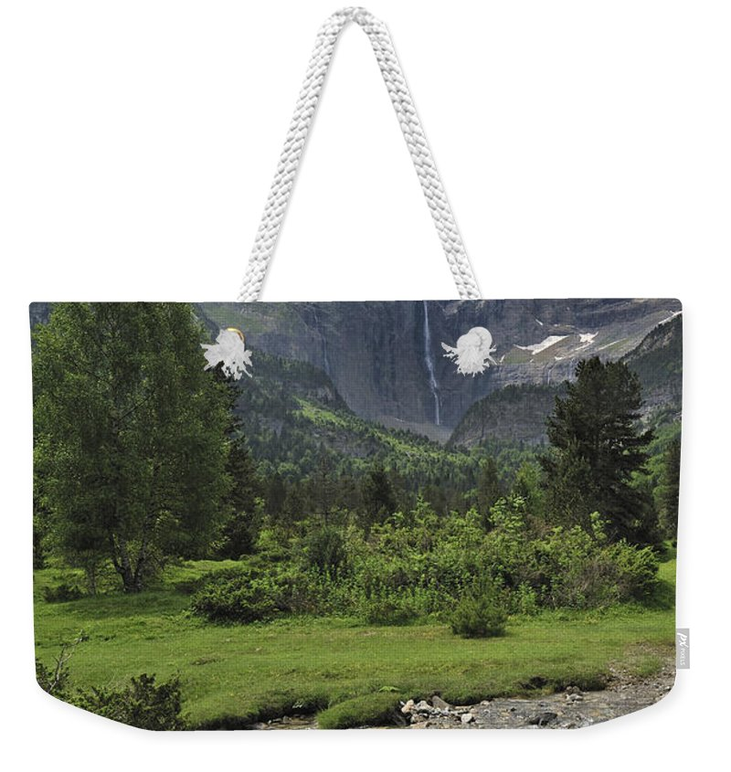 Cirque De Gavarnie Weekender Tote Bag featuring the photograph 120520p193 by Arterra Picture Library