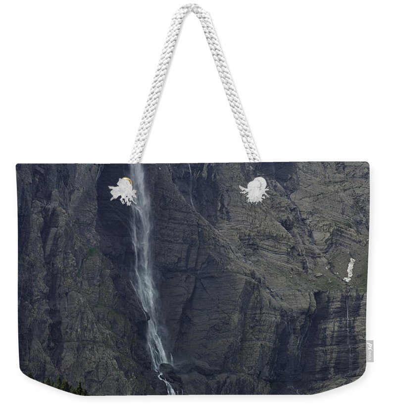 Cirque De Gavarnie Weekender Tote Bag featuring the photograph 120520p194 by Arterra Picture Library