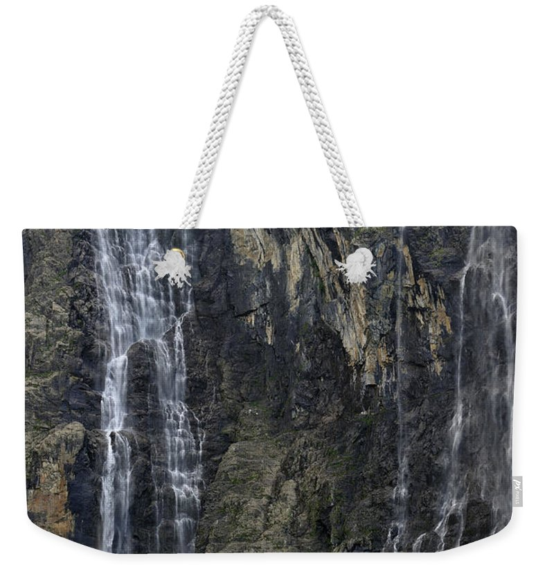Cirque De Gavarnie Weekender Tote Bag featuring the photograph 120520p197 by Arterra Picture Library