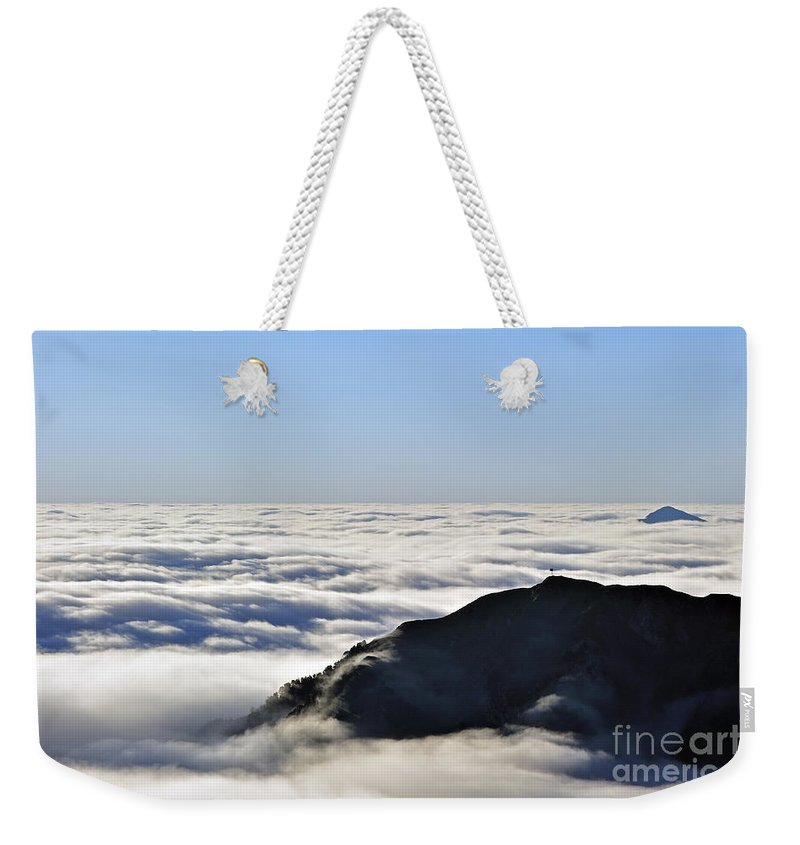 Col Du Tourmalet Weekender Tote Bag featuring the photograph 120520p204 by Arterra Picture Library