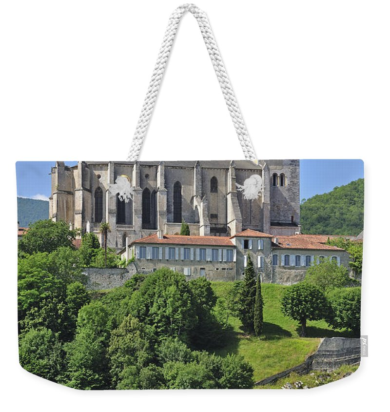 Cathedral Weekender Tote Bag featuring the photograph 120801p292 by Arterra Picture Library