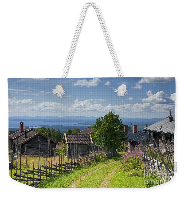 Fryksas Weekender Tote Bag featuring the photograph 130201p098 by Arterra Picture Library