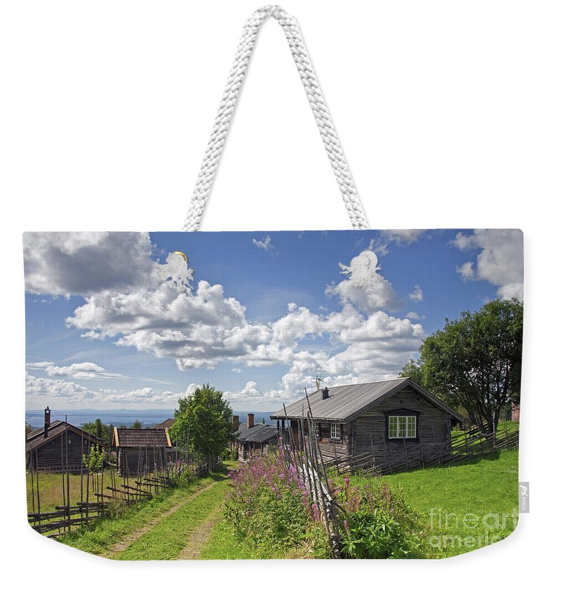 Fryksas Weekender Tote Bag featuring the photograph 130201p099 by Arterra Picture Library