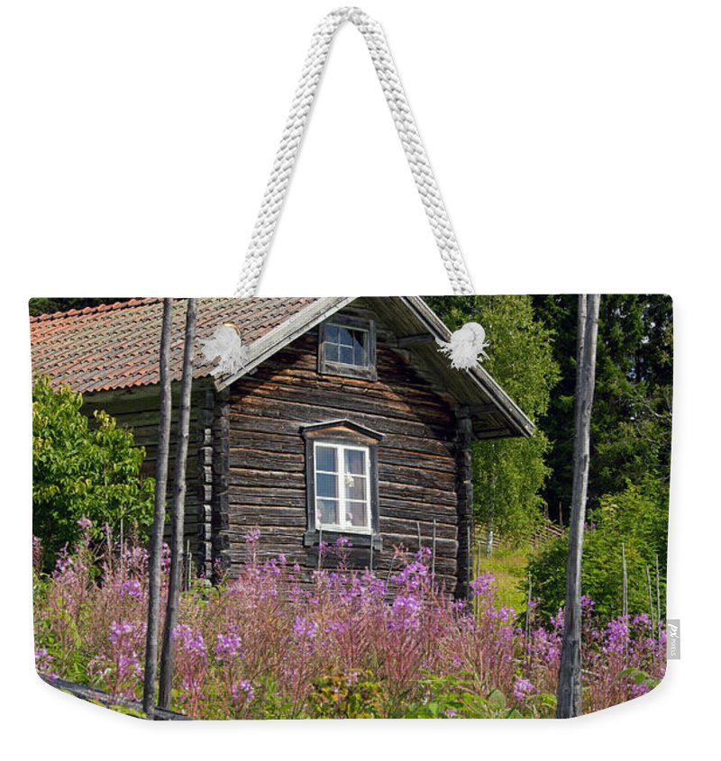 Fryksas Weekender Tote Bag featuring the photograph 130201p102 by Arterra Picture Library