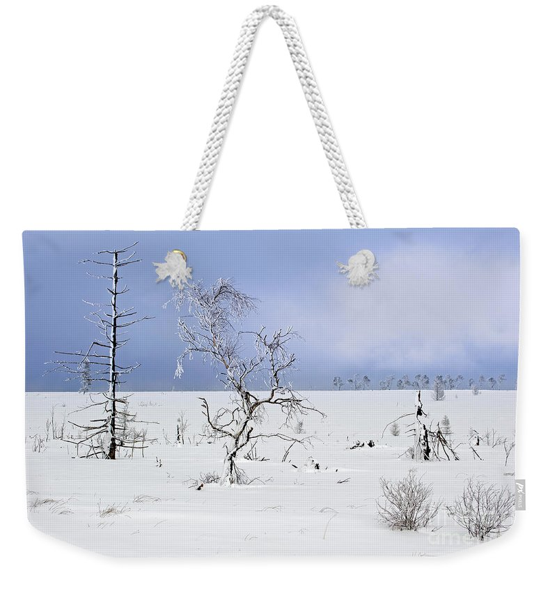 High Fens Weekender Tote Bag featuring the photograph 130201p330 by Arterra Picture Library