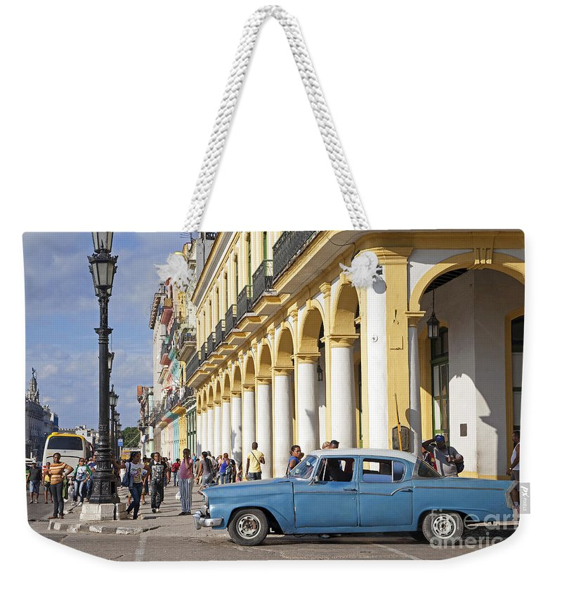 Old Weekender Tote Bag featuring the photograph 130215p002 by Arterra Picture Library