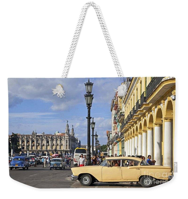 Old Weekender Tote Bag featuring the photograph 130215p003 by Arterra Picture Library